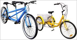 Speciális kerékpárok