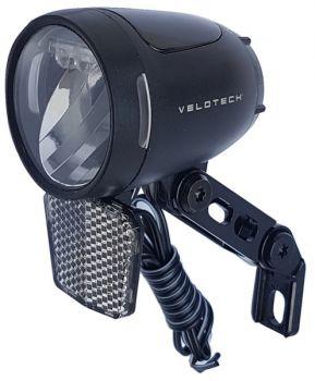 Első lámpa dinamós 90 LUX, Velotech