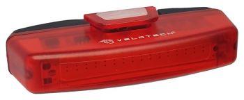 Hátsó lámpa USB Velotech PRO 16 LED