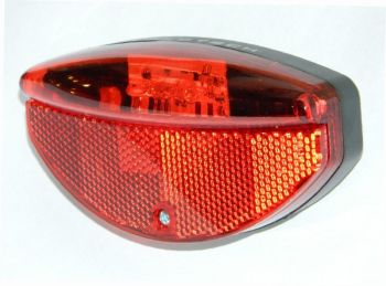 Lámpa hátsó csomagtartóra 3 LED dinamós