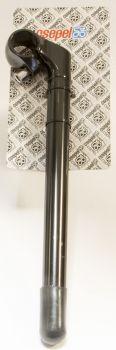 Kormányszár acél-alu 22,2 270/40 mm, fekete