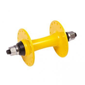 Első agy Atompista alu 32H magas peremes, sárga