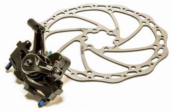 Tárcsafék első nyereggel mechanikus Promax 310 180PM