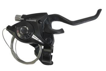 Váltófékkar jobb 8sp Shimano STEF51R8AL fekete