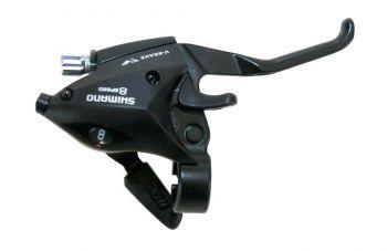 Fékváltókar jobb 8sp Shimano STEF50R8AL, fekete