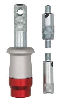 Középrész csészekiszedő adapterekkel Weldtite