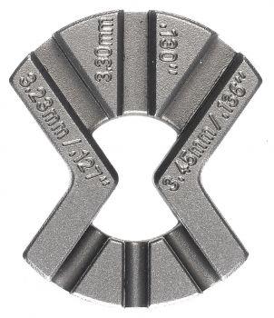 Küllőkulcs 3x 3.23-3.30-3.45mm Weldtite