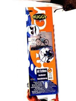 Kerékpárszállító tetőre acél, zárható Huggy K: 1