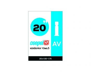 Belső gumi Csepel 20x1,50-1,75 AV