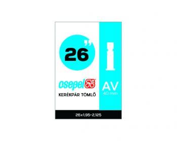 Belső gumi Csepel 26x1,95-2,125 AV 40 mm