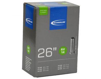 Belső gumi 26x1.50-2.25 40/62-559 Schwalbe AV extra light