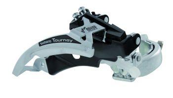 Váltó első 31.8 Shimano Tourney TX51 dual pull