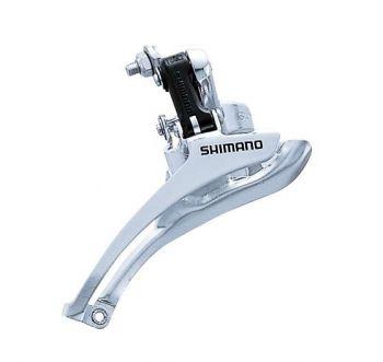 Váltó első 28.6 mm Shimano FDA070AS első bilincses dupla