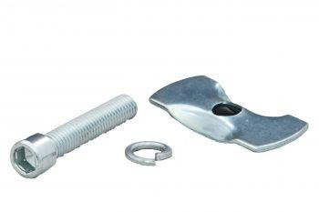 Kitámasztó csavar M10X50 60 mm, ezüst