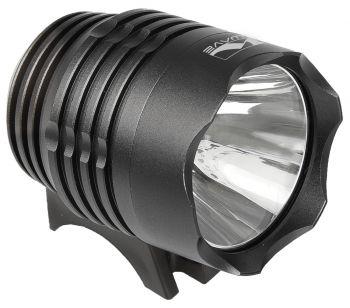 Első lámpa USB Ultra 900 1 LED M-Wave, fekete