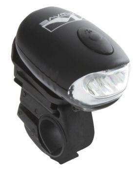 Első lámpa kurblis 3 LED, 3 funkció