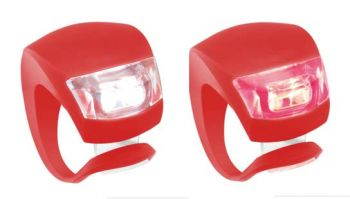 Hátsó lámpa Knog Beetle, piros