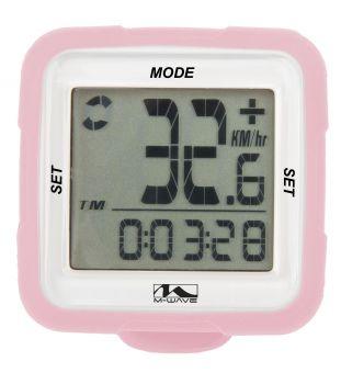 Kilométeróra 14 funkciós wifi M-Wave, pink