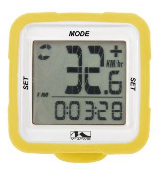Kilométeróra 14 funkciós wifi M-Wave, sárga