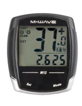 Kilométeróra 12 funkiós M12 M-Wave