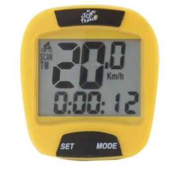 Kilométeróra Tour de France 10 funkciós vezetékes