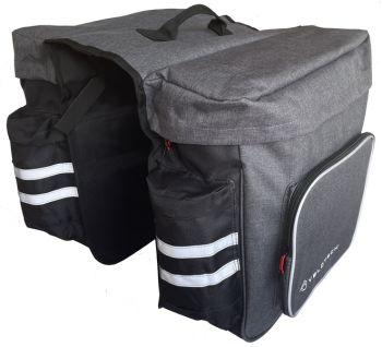 Kétrészes túratáska csomagtartóra Velotech