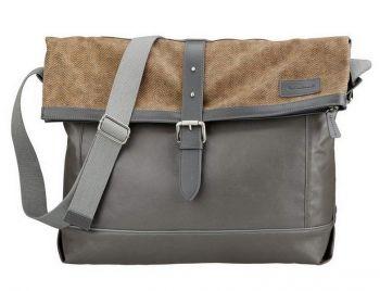 Válltáska Messenger Bag Classic barna