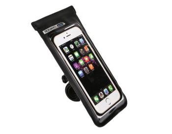 Telefontartó por- és vízálló, fekete