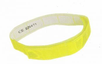 Fényvisszaverő karpánt UV sárga