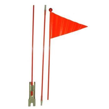 Zászló hátsó tengelyre rögzíthető