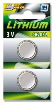 Gombelem Arcas CR2032 3V tartós li-ion 5 db