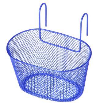 Kosár első gyerekbiciklire sűrű kék