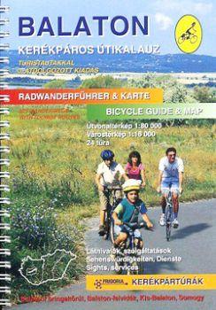 Balaton kerékpáros atlasz
