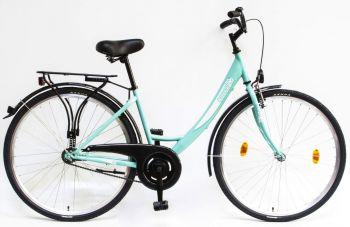 Csepel Budapest A 28 női kontrás kerékpár Türkiz