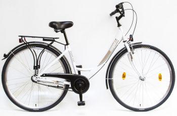 Schwinn Csepel Budapest A 28 N3 agyváltós női kerékpár Fehér