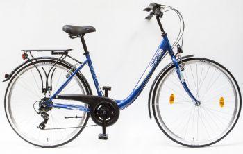 Schwinn Csepel Budapest B 28 7sp kerékpár Kék
