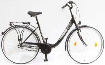 Schwinn Csepel Budapest B 28 N3 agyváltós kerékpár Fekete