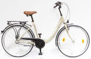 Schwinn Csepel Budapest B 26 N3 agyváltós női kerékpár Drapp