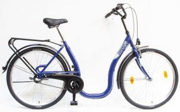 Schwinn Csepel Budapest C kontrás alacsony vázas kerékpár Kék