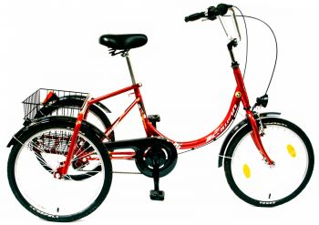 Schwinn Csepel Camping kontrás háromkerekű tricikli felnőtteknek