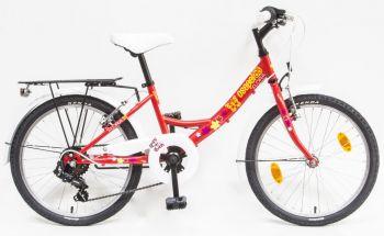 Schwinn Csepel Flora 20 6 sebességes kerékpár Piros
