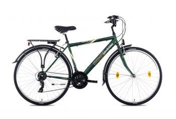 Schwinn Csepel Landrider 28-as férfi kerékpár Sötétzöld