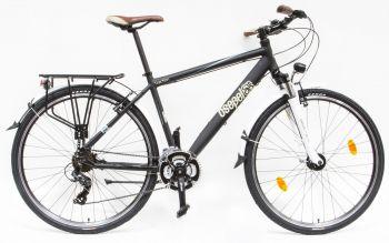 Schwinn Csepel Traction 200 férfi túra trekking kerékpár Matt fekete