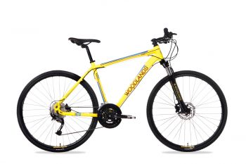 Schwinn Csepel Woodlands Cross 700C 2.1 kerékpár Sárga