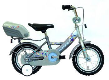 Hauser Swan 12 gyerek kerékpár Ezüst-grafit