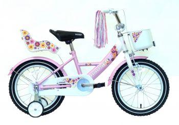 Hauser Swan 16 gyerek kerékpár több színben Fehér-Rózsaszín
