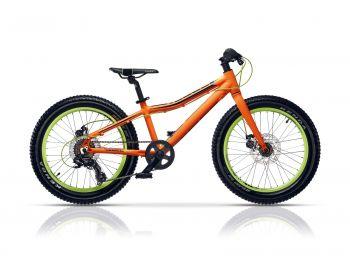 Polar Rebel 20 fiú kerékpár, matt narancs