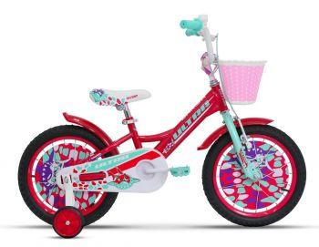 Ultra Larisa 16-os gyerek kerékpár Pink