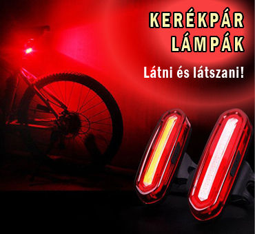 Kerékpáros lámpa